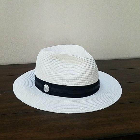 Vince Camuto white summer hat. M 5ab570f22ab8c5f71a4530a0 cb3da9af645c